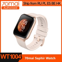 Смарт часы 70mai, Bluetooth, GPS, AMOLED, 24 часа, 5ATM