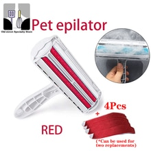 2-Way Dog Cat Comb Tool Convenient Cleaning Lint Brush Pet Hair Roller Remover Dog Cat Fur Brush Bas