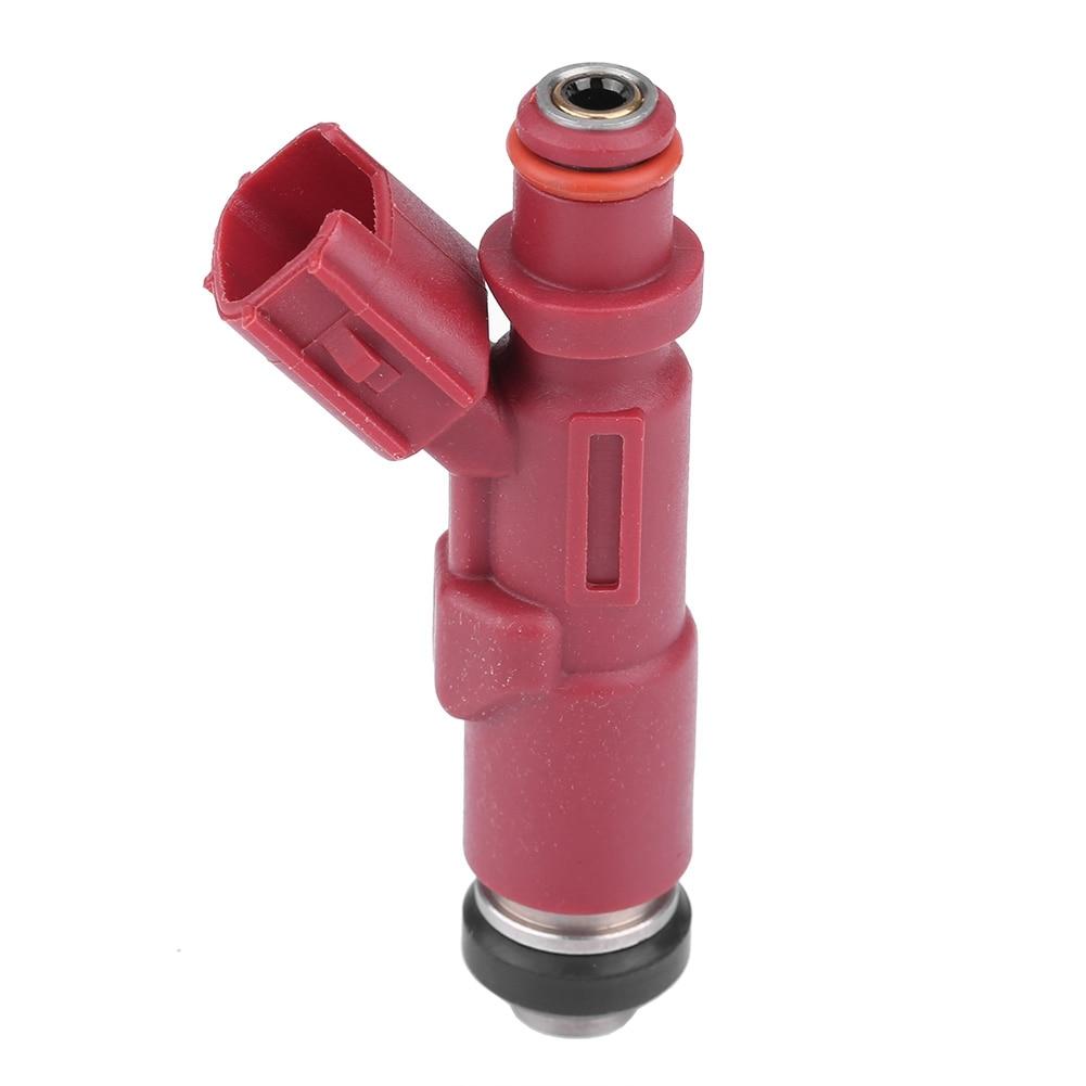 23250-97401 boquilla inyectora de pulverización de combustible rojo oscuro anti-óxido no es fácil de tapar para Toyota Avanza F601RM k3VE 1.3L Daihatsu Terios