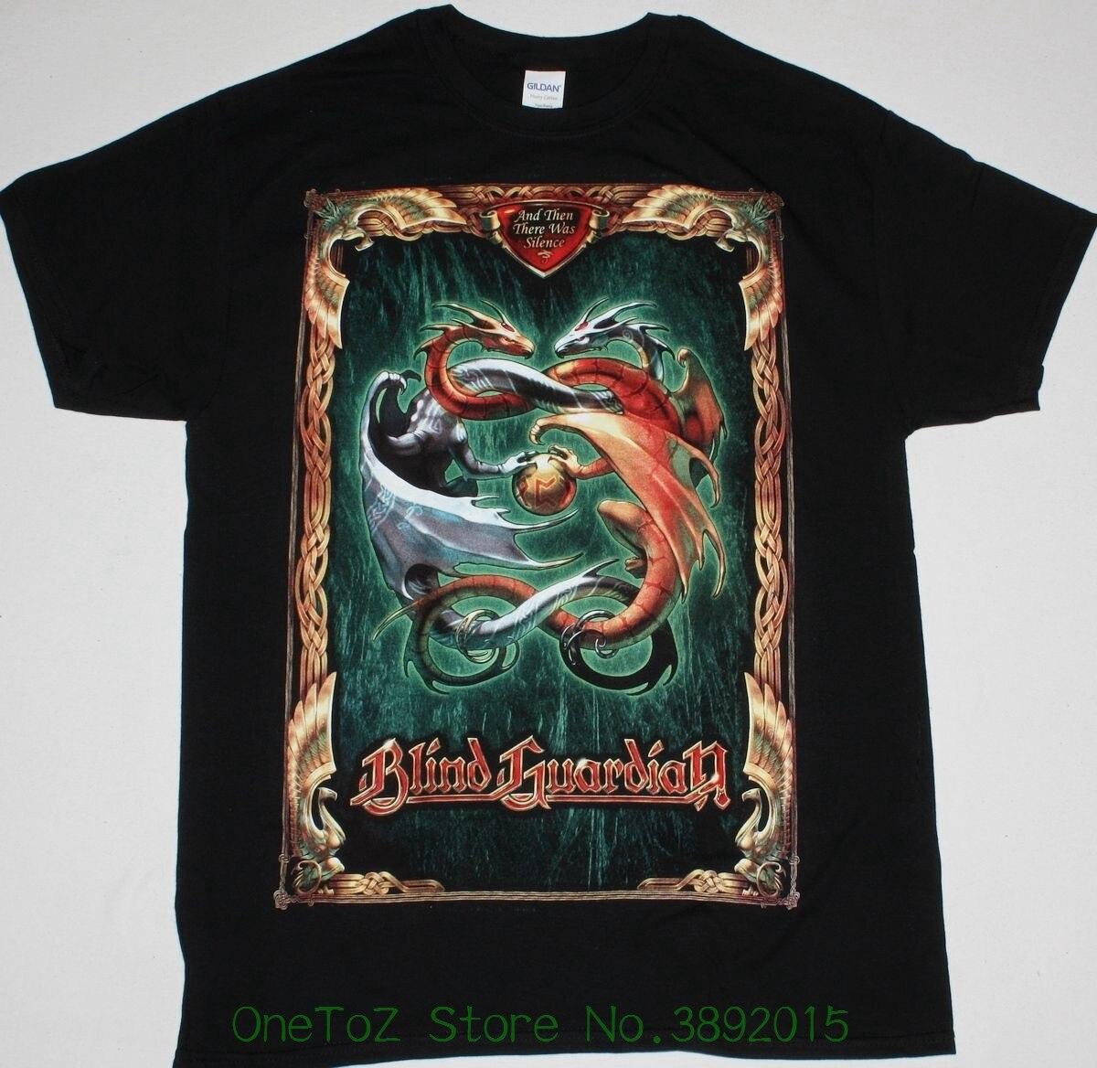 Nueva camiseta de moda para hombre Blind Guard And Then Was Silence gama Ray hellowen nueva camiseta negra