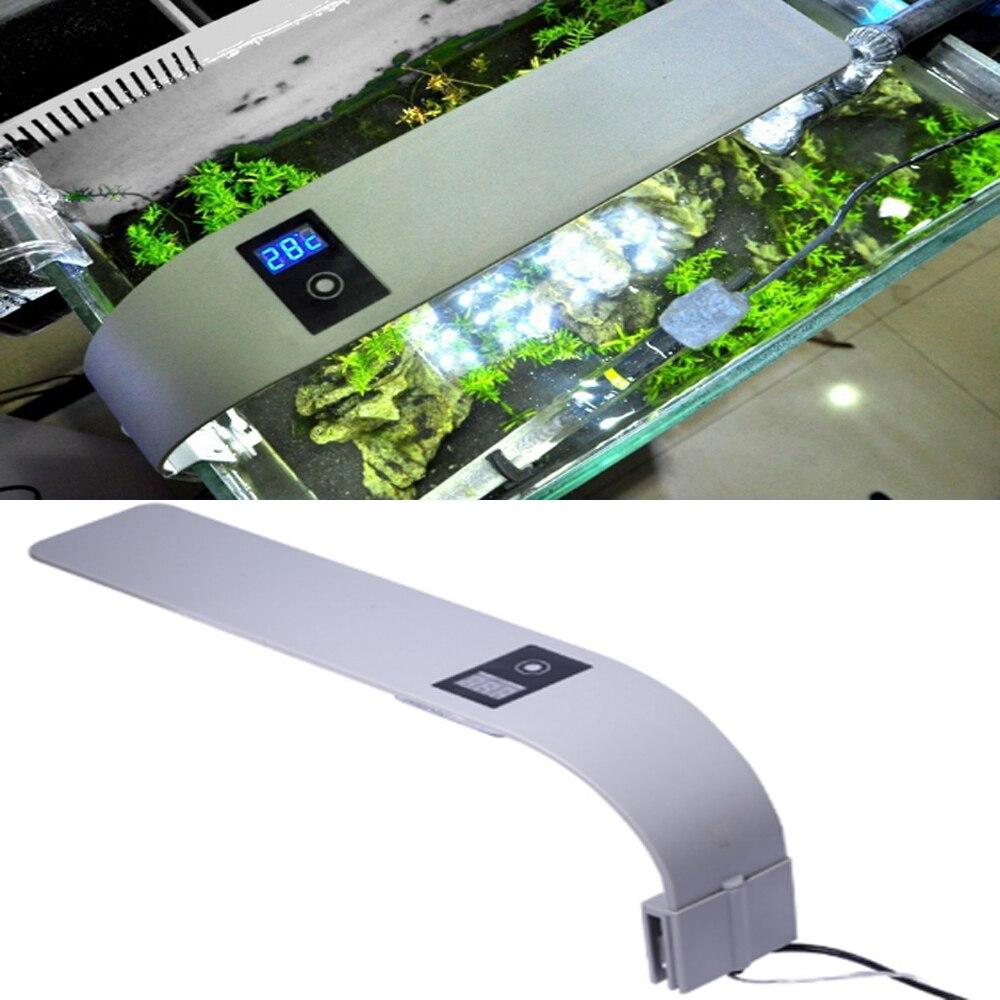 Touch Screen LED Aquarium Lamp Fish Tank Light X9 15W Plant Grow Aquarium Fish Lamp for Freshwater Tank