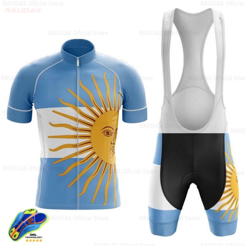 2020 Nueva Argentina de Ropa de Ciclismo MTB bici Conjunto Jersey Ropa...