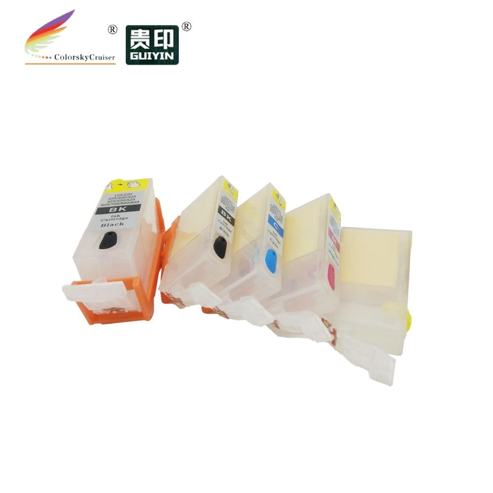(Rcc325) cartucho de tinta de recarga recarregável para canon bci325 BCI-325 BCI-326 bci 325 325 pixma g5230 mg5130 mg6130 k/k/c/m/y