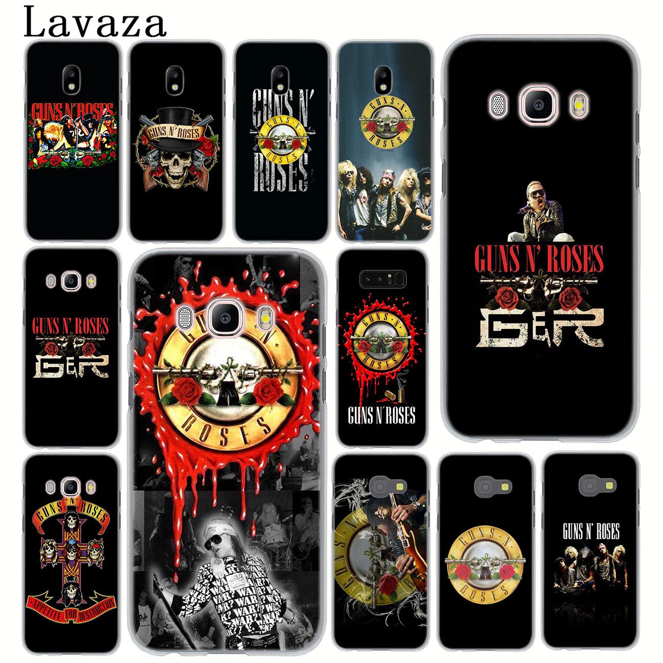 Чехол для телефона Lavaza guns n roses guns N Roses для samsung Galaxy J8 J7 Duo J4 J5 J6 Plus 2018 2017 2016 J2 J3 Prime 2015