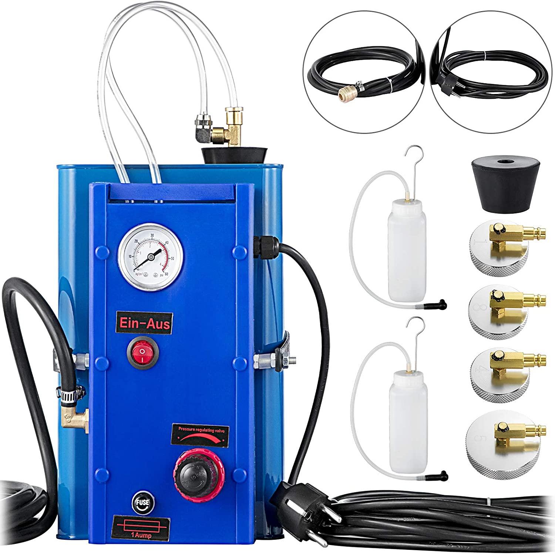 الكهربائية الفرامل النزيف جهاز ، 3M ملء خرطوم ، ضغط الفرامل النازف ، 5L الحاويات ، سائل الفرامل دافق مع خزان 230V ، fo
