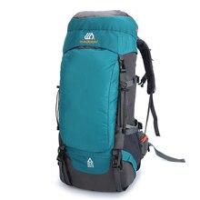 Sac à dos extérieur en Nylon sac à dos Camping randonnée ruckasck escalade sac Sport voyage paquet marque Super léger sac à bandoulière 65L