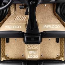 Alfombrillas personalizadas para Mitsubishi ASX Lancer Galant Pajero sport V73 V93, alfombra impermeable para coche, diseño 3D 2020