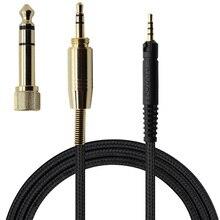 POYATU HD 559 аудиокабель для Sennheiser HD569 HD579 HD559, кабели для наушников, сменные шнуры с микрофоном и пультом дистанционного управления для IPhone, Andriod