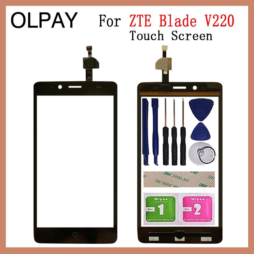 5.0'' Mobile Phone TouchScreen For ZTE Blade V220 Touch Screen Glass Digitizer Panel Lens Sensor Gla