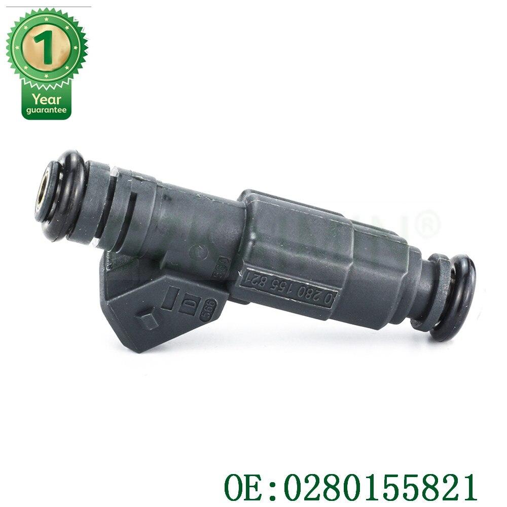 4 x nuevo inyector de combustible para ALFA ROMEO 156 para CHEVROLET VECTRA 2,2 OEM #0280155821 0 280 155 821 también para Volvo 740 2,3