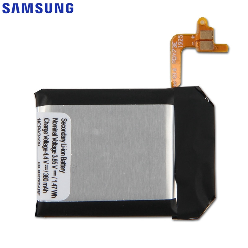Samsung Original EB-BR760ABE Battery For Samsung Gear S3 Frontier SM-R760 SM-R770 SM-R765 Genuine Replacement Battery 380mAh enlarge
