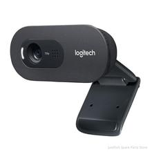 Logitech C270/C270i Webcam 720p HD Gebaut-in Mikrofon Web Kamera für PC Web-Chat Kamera