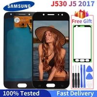 100 tested lcd for samsung galaxy j530 lcd j5 2017 display touch screen lcd digitizer assembly for samsung j530f j5 pro 2017
