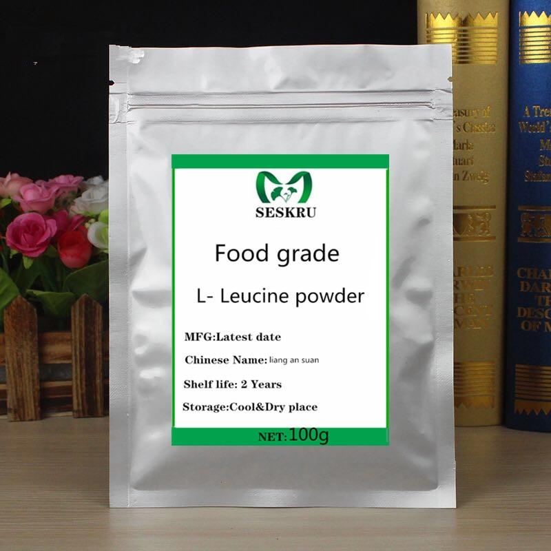 Food-grade L-leucine powder, 99% L-leucine powder, energy-enhancing amino acids, nutritional supplements