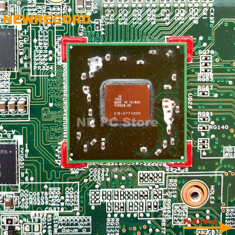 Купить с кэшбэком NEWRECORD 615382-001 615381-001 Laptop Motherboard For HP G62 G62-B41E0 MAIN BOARD HM55 DDR3 with 1GB GPU free CPU fully tested