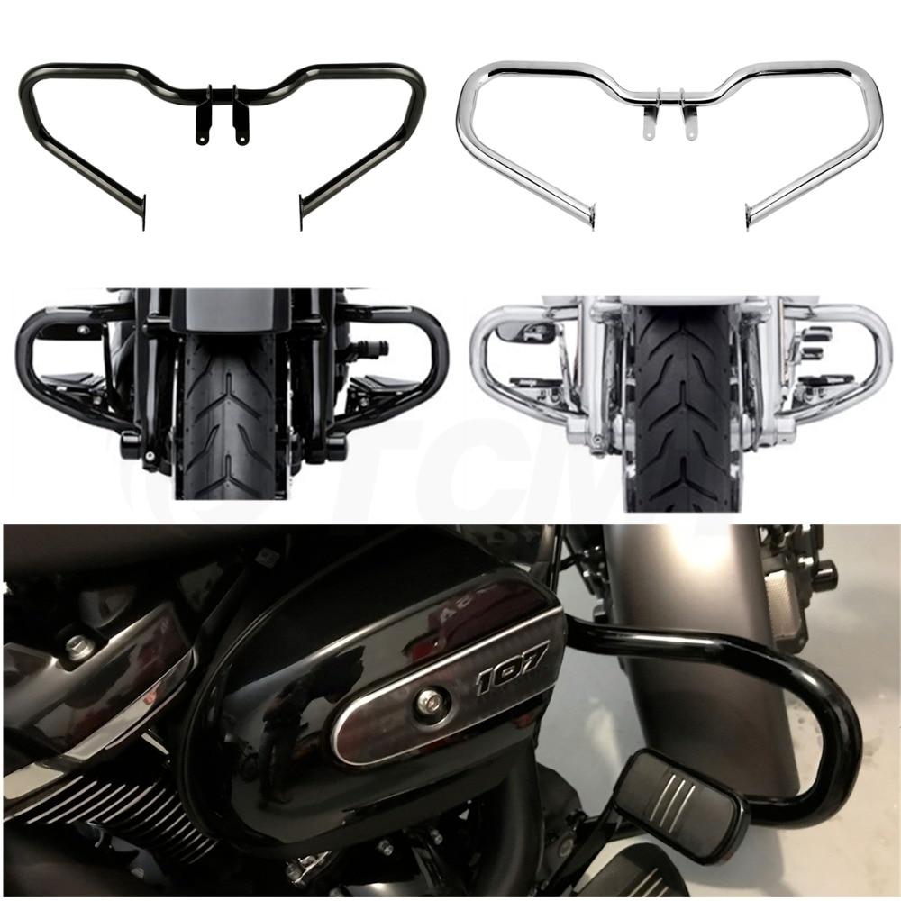 Motocicleta picado Barra de choque de protección para motor para Harley Street Glide Road King FLHR FLHX 2014-2019 de 2018