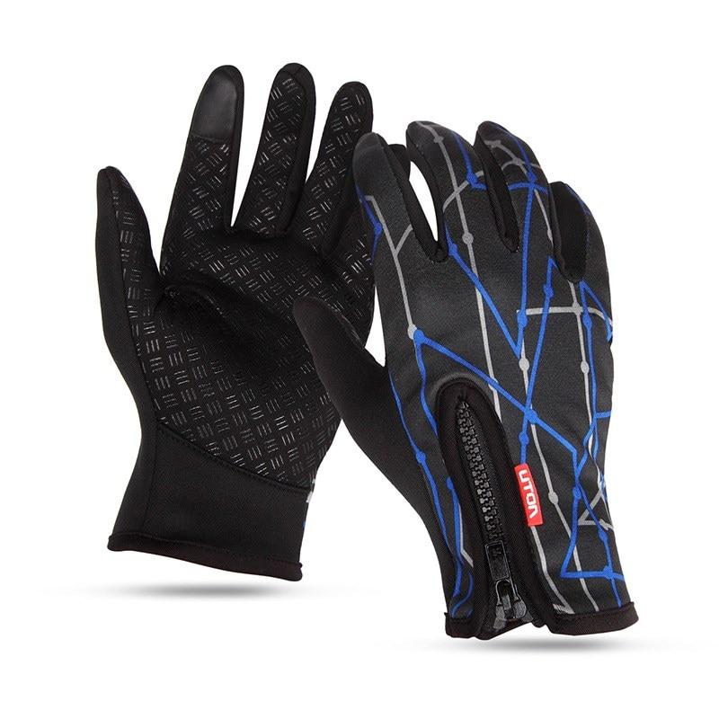 CKAHSBI New Arrived Brand Women Men Ski Gloves Snowboard Gloves Motorcycle Riding Winter Touched Screen Snow Windstopper Glove