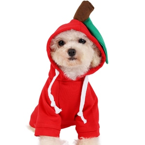 Pet cat winter warm clothes lovely for puppy dog cute fruit dog outfit Chihuahua fashion new brand jacket clothing
