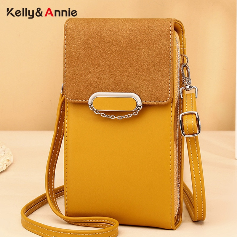 Brand Designer Chain Small Shoulder Bags For Women Pu Leather Ladies Crossbody Messenger Purse Female Handbag Phone Bag Wallet