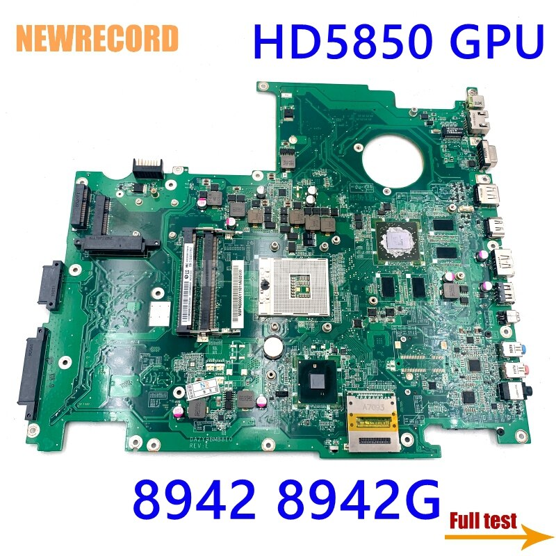 NEWRECORD DAZY9BMB8E0 MB.PNQ06.001 MBPNQ06001 اللوحة لابتوب أيسر أسباير 8942 8942G HM55 DDR3 HD5850 GPU اللوحة الرئيسية