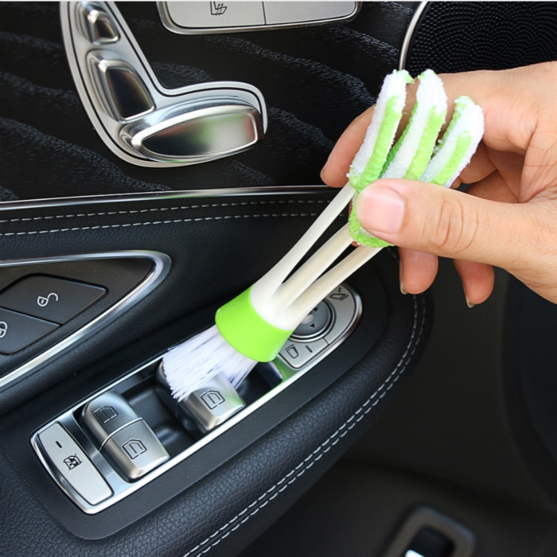 Щетка для чистки автомобиля, аксессуары, наклейка для Renault Megane 2 3 Duster Logan Clio 4 3 Laguna 2 Sandero Scenic 2 Captur Fluence Kangoo