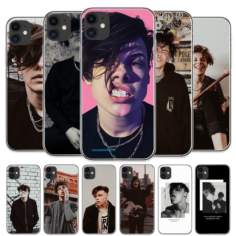 De moda Pop Rock cantante Yungblud funda para teléfono para IPhone 11 Pro Max 8 Plus 7 Plus 6S 5S SE X XS X MAX XR Coque suave TPU cubre