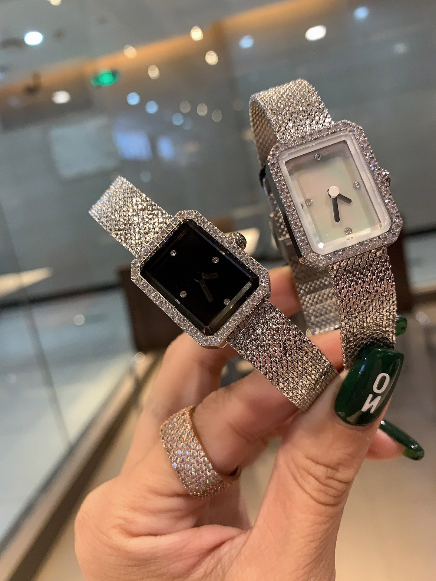 2021 brand timepieces, ladies C watches, fashion rose gold formal watches, gifts for girls at the banquet party enlarge