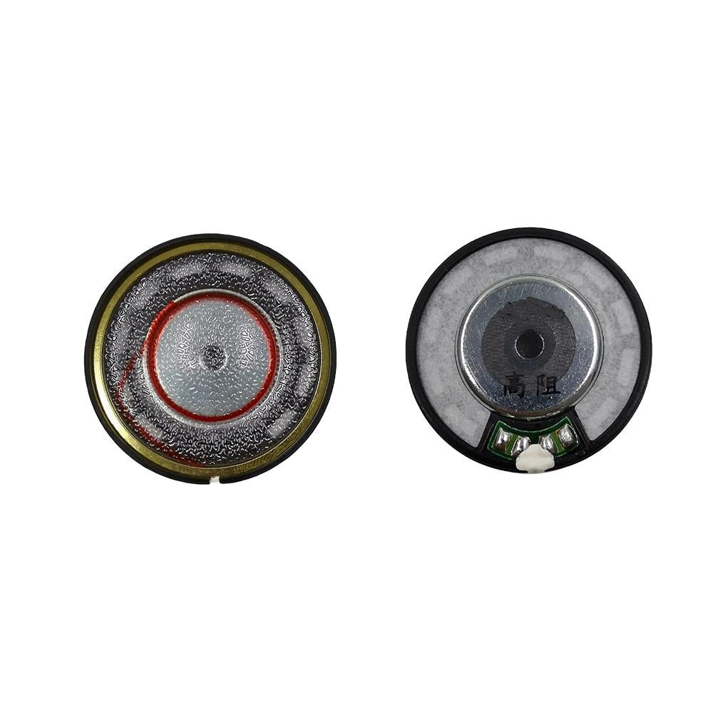 1 Pair 40mm Headphone Driver Unit DIY Audiophile 32ohm 260ohm Patternless Diaphragm Headset Loudspeakers Replacement Hifi enlarge
