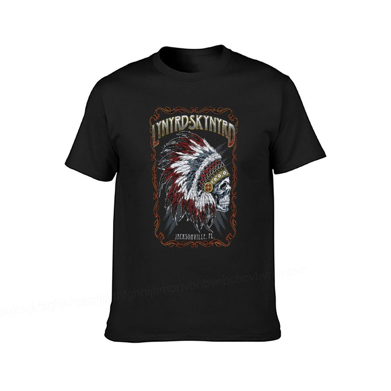 Lynyrd-Camisetas De Skynyrd para hombre, playera alternativa de verano, Tops de algodón...
