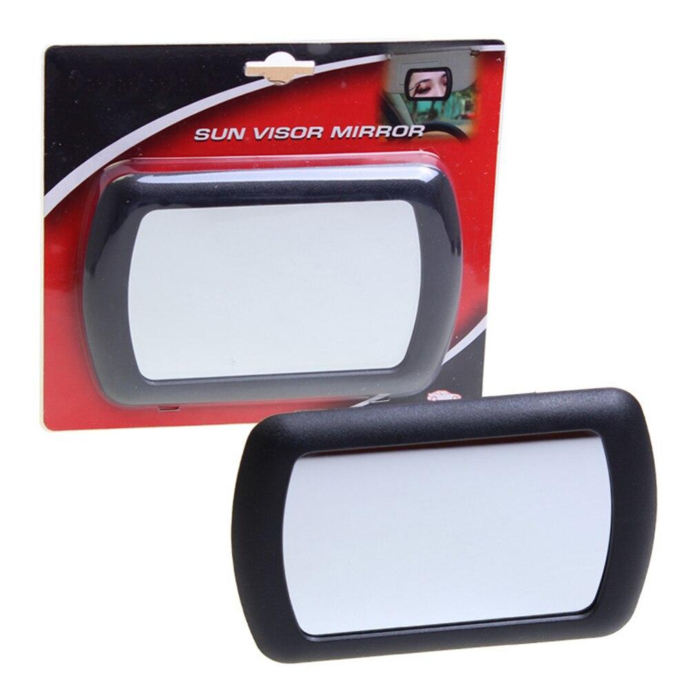 Clara Interior Universal parasol para coche herramienta de cáscara del ABS accesorio espejo partes con Clips de Auto maquillaje duradero