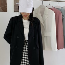 White Small Suit Coat Women's Early Autumn 2021 New Small Temperament Leisure Loose Thin Suit Top