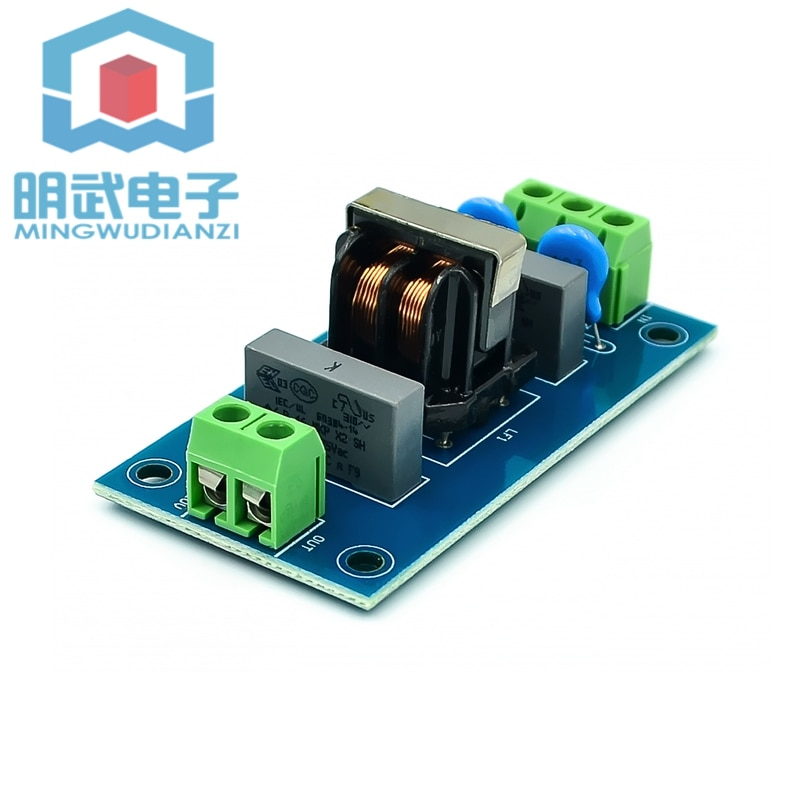 Filtro EMI amplificador de sonido zócalo de filtro EMI Módulo de filtro potente filtro