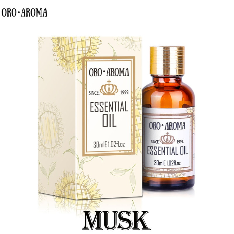 Aceite Esencial de almizcle natural de la famosa marca oroaroma, Envío Gratis, alivia el estado de ánimo del equilibrio nervioso, aceite de almizcle afrodisíaco