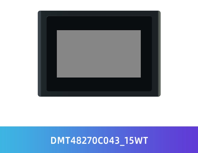 Dmt48270c043_15wt 4.3 polegadas devin dgus ii tela de baixo custo hmi desenvolvimento de interface humano-máquina