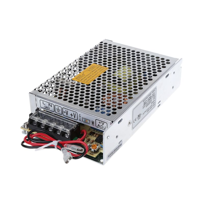 120W 12V 10A Universal AC Power Supply Switching UPS / Charging Monitor Function (SC120W-12) Dropshipping