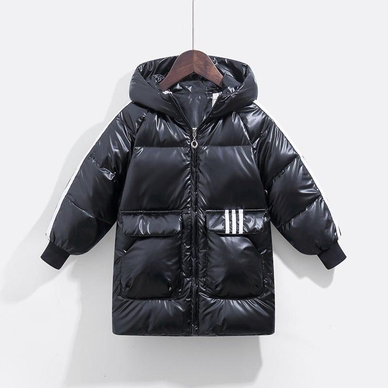 الشتاء طفل جاكيتات الأطفال الثلوج الدعاوى الفتيات ملابس جديدة الفتيان الدافئة أسفل السترات سميكة معاطف ملابس الأطفال المعاطف الدافئة 2-14 Y