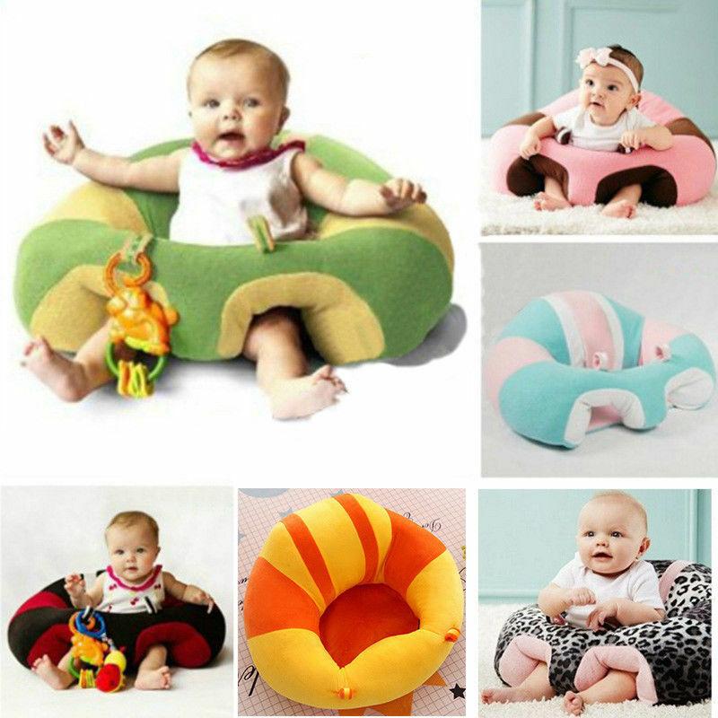 Mais novo quente vendas crianças assento de apoio do bebê sentar-se cadeira de segurança macia almofada sofá pelúcia travesseiro brinquedo saco feijão