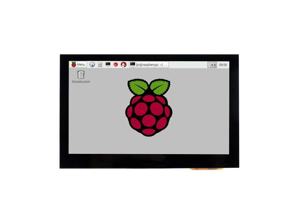 Waveshare 4,3 pulgadas capacitiva pantalla táctil para Raspberry Pi 800*480 IPS ancho ángulo de pantalla a color MIPI DSI interfaz