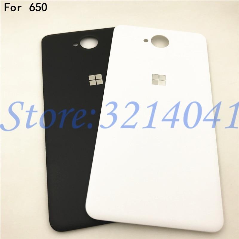 Tapa trasera de la batería Original de 5,0 pulgadas funda carcasa para Nokia Microsoft Lumia 650 batería cubierta trasera con NFC