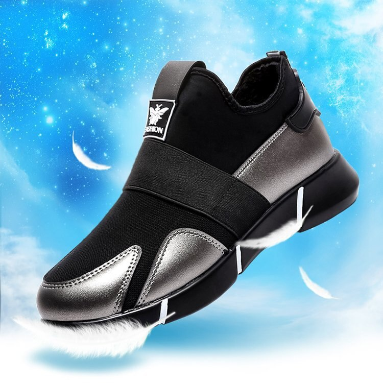 2019 zapatillas de deporte para mujer zapatos vulcanizados zapatos casuales para mujer zapatos transpirables de malla para caminar zapatos de pareja de tamaño grande Size35-40