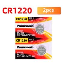 Original 2PCS Panasonic CR1220 Knopfzellen Batterien DL1220 BR1220 ECR1220 LM1220 3V Lithium-Batterie Für Spielzeug LED uhren