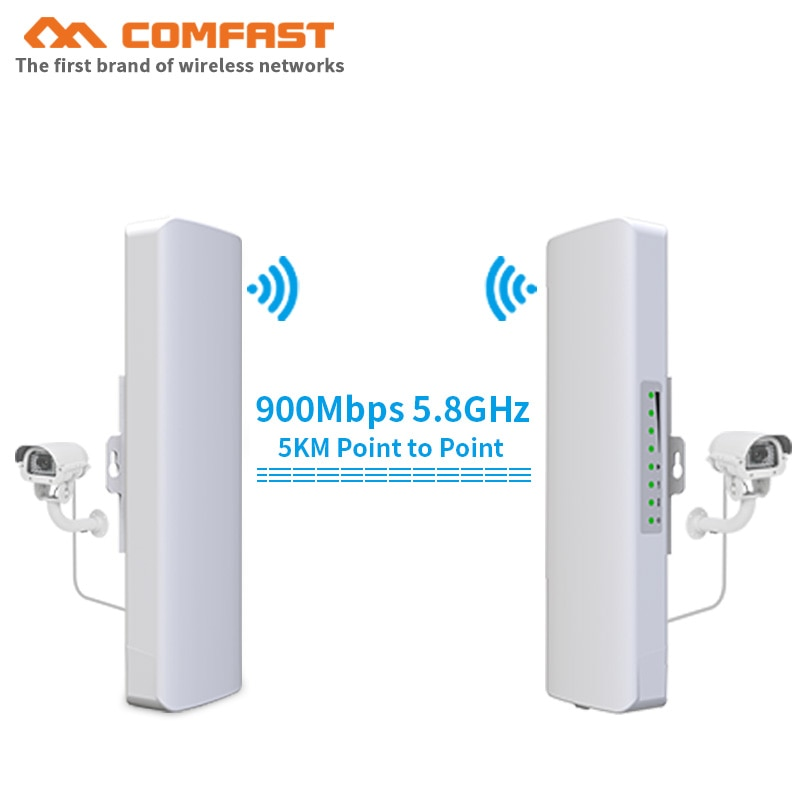 5KM range 300 ~ 900Mbps 5.8G Outdoor wireless bridge wifi CPE Access Point AP Antenna WI-FI repeater client router Nanostation
