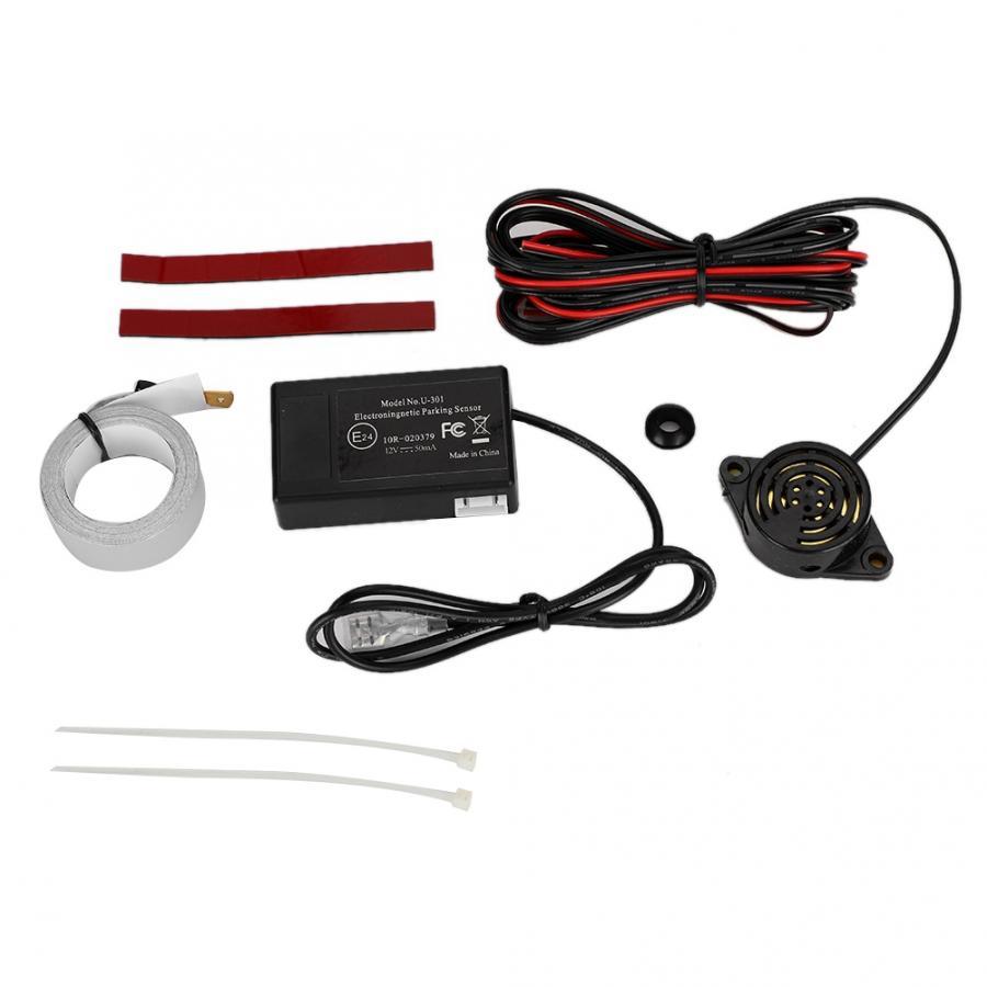 Универсальный Автомобильный Электромагнитный индукционный Реверсивный парковочный радар с зуммером Новинка