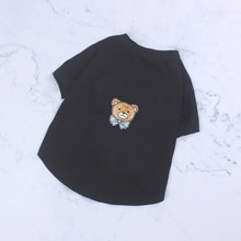 Spring Summer Cotton Poodle Cool Tshirt Pug Costume Chihuahua Apparel S-2XL PC1488