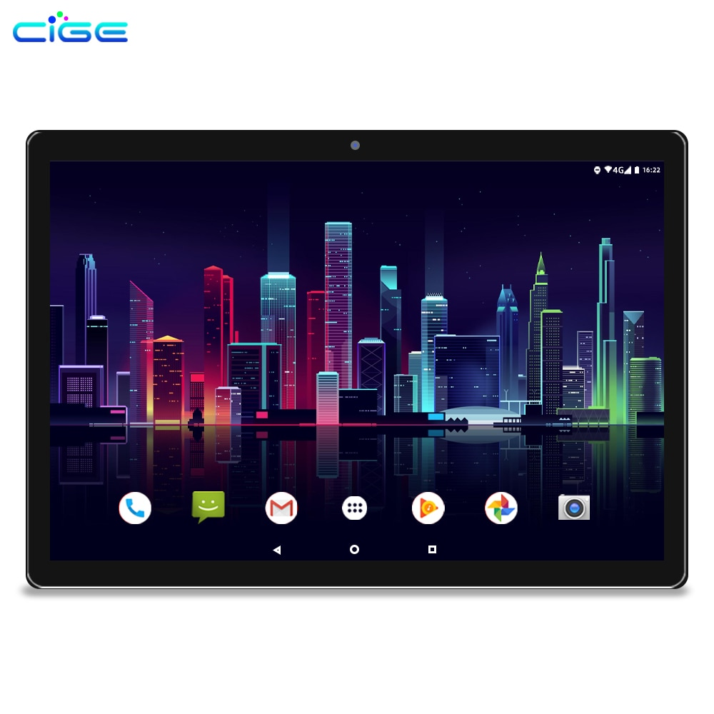 CIGE N9 10 Inch Tablet PC Android 8.0 4G LTE Phone Call 6GB 64GB 10 Core Gaming Tablets Computer For Children's With Keyboard