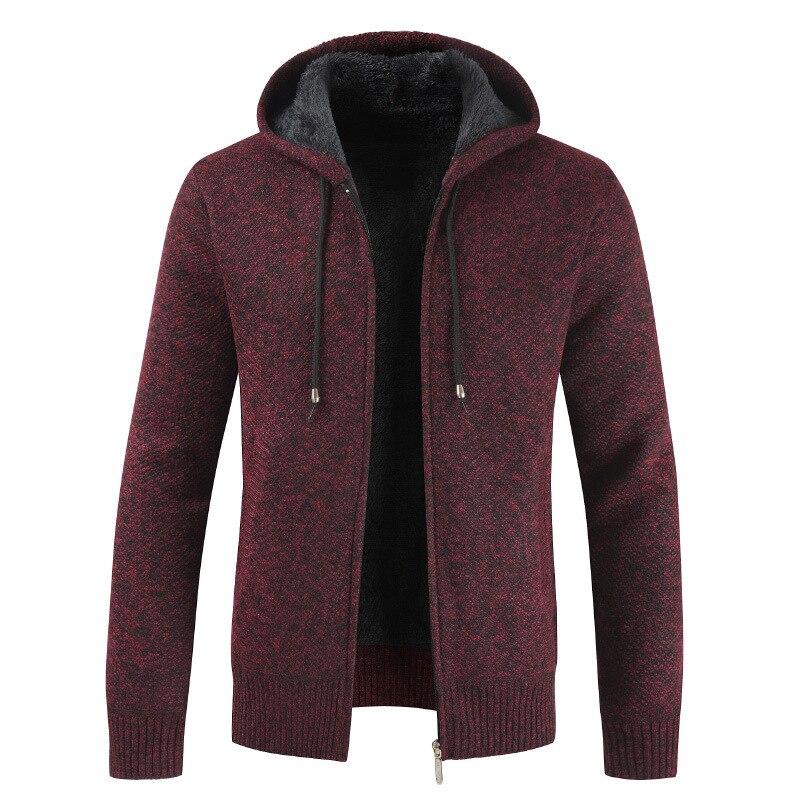 Осенние и зимние свитера, мужские тонкие свитера, средние и длинные повседневные куртки, корейские модные свитера, пальто для похудения