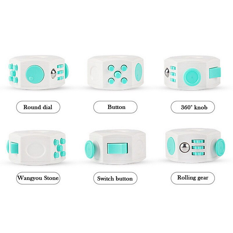 Decompression Toy Press Magic Anti Stress Cube Toy Stress and Anxiety Relief Depression Anti Cube for Kids and Adults enlarge