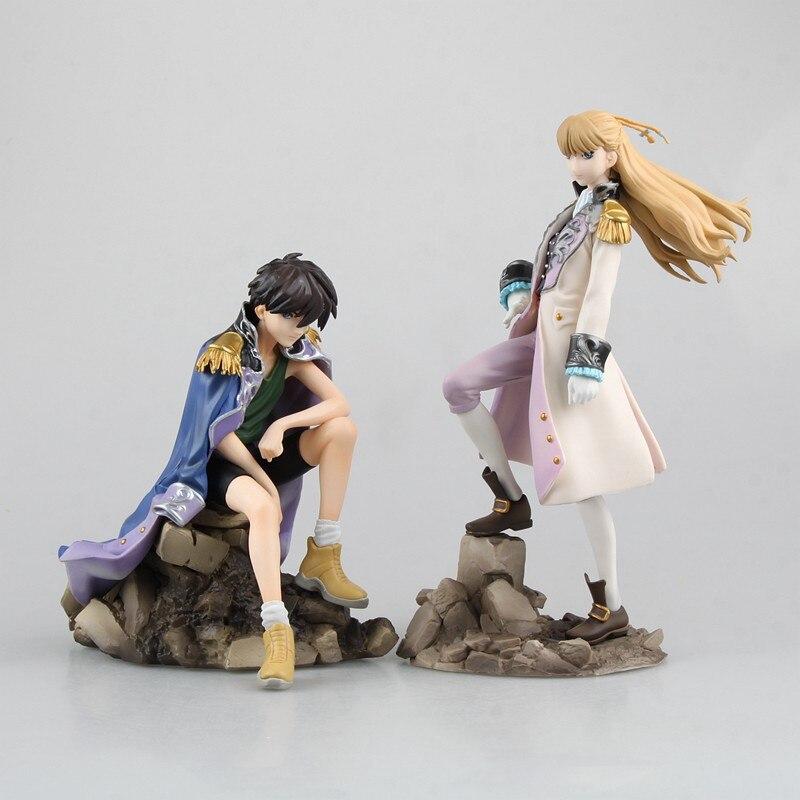 Figura de acción de Anime nuevo informe móvil HEERO Yuy Wing 1/8 escala Relena Peacecraft PVC modelo colección muñeca Brinquedos 14 ~ 19cm