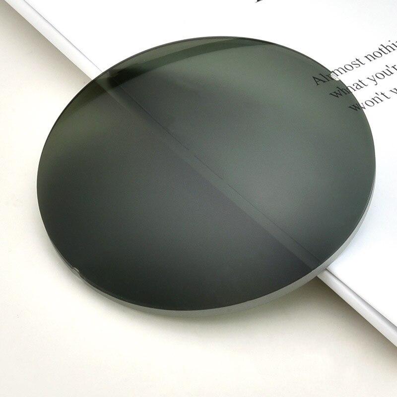 وصفة النظارات الشمسية عدسة 1.56 1.61 1.67 قصر النظر النظارات الشمسية عدسة وصفة طبية CR-39 الراتنج شبه الكروي نظارات العدسات UV400