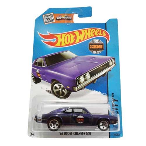 Hot Wheels 69 Dodge Charger 500 HW City 19/250 2014 long card